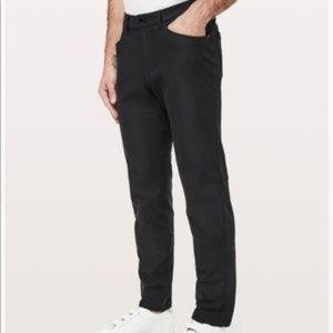 Men's Black Lululemon Athletica ABC Pant 34 Tall